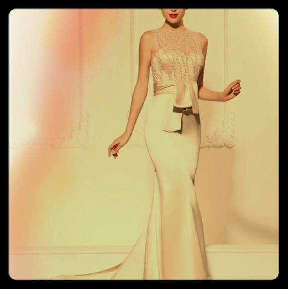 Dresses & Skirts - Lovely sequins and satin gown